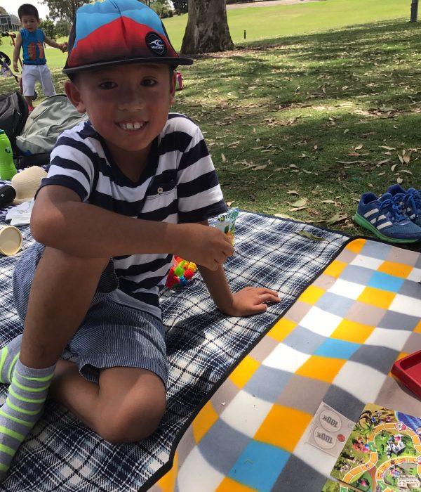 Tran clan picnic