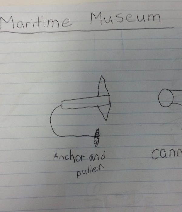 My School Exursion To Maritime Museum