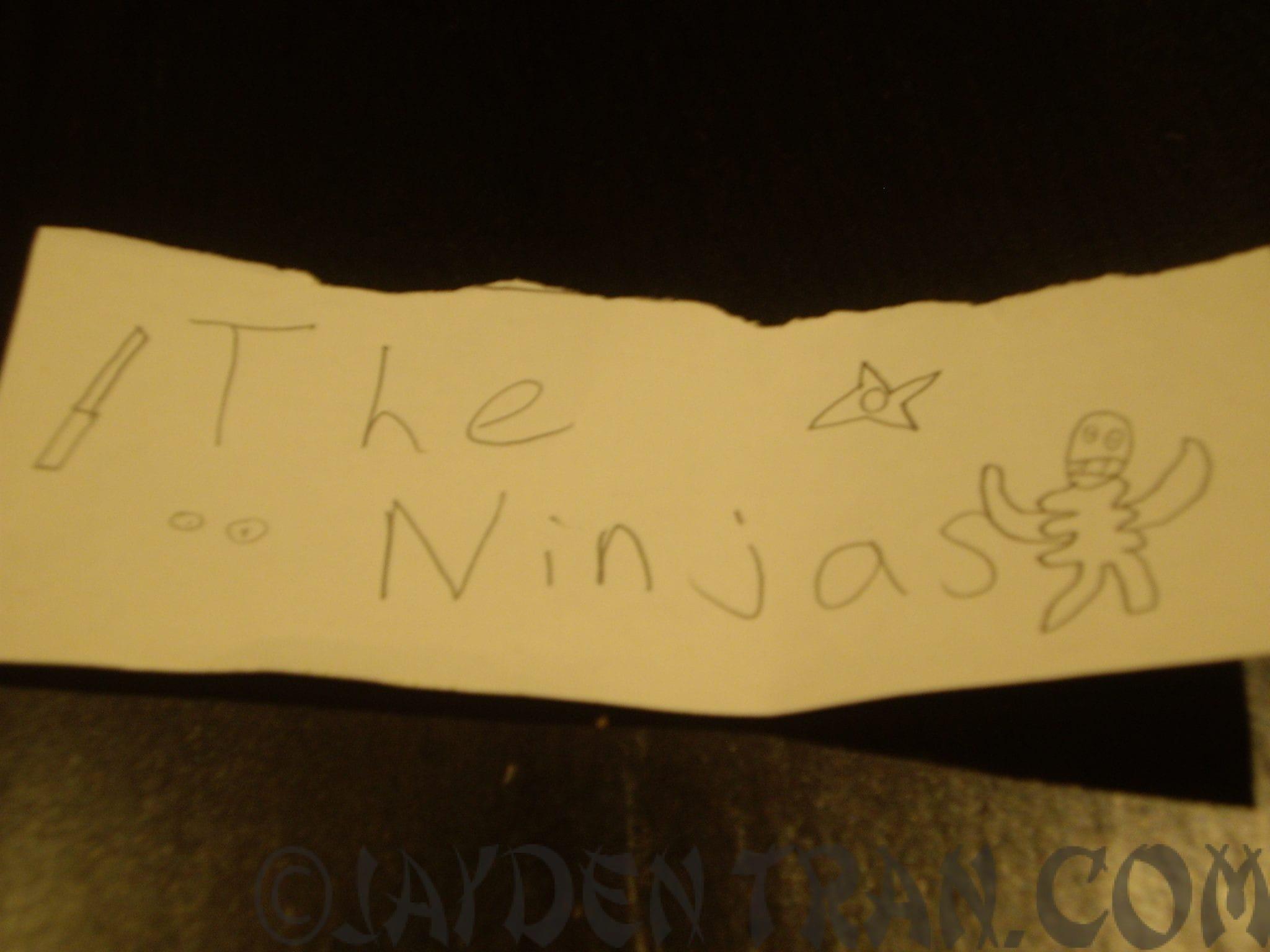 Part 2 of The Ninjas