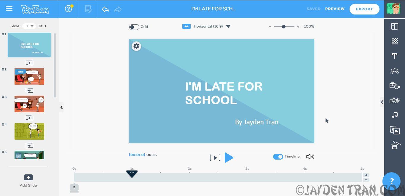 School Project on Technology
