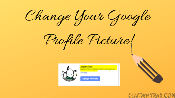 Instructions on how to add a photo to your Gmail profile