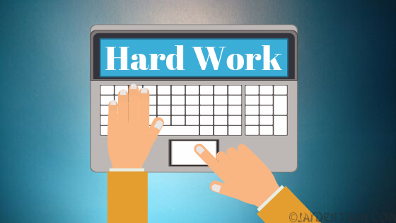 The Hard Work – Video using Powtoon