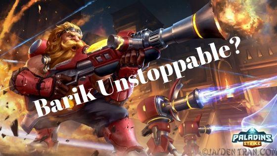 Barik Unstoppable?