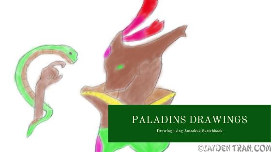 Paladins Drawings