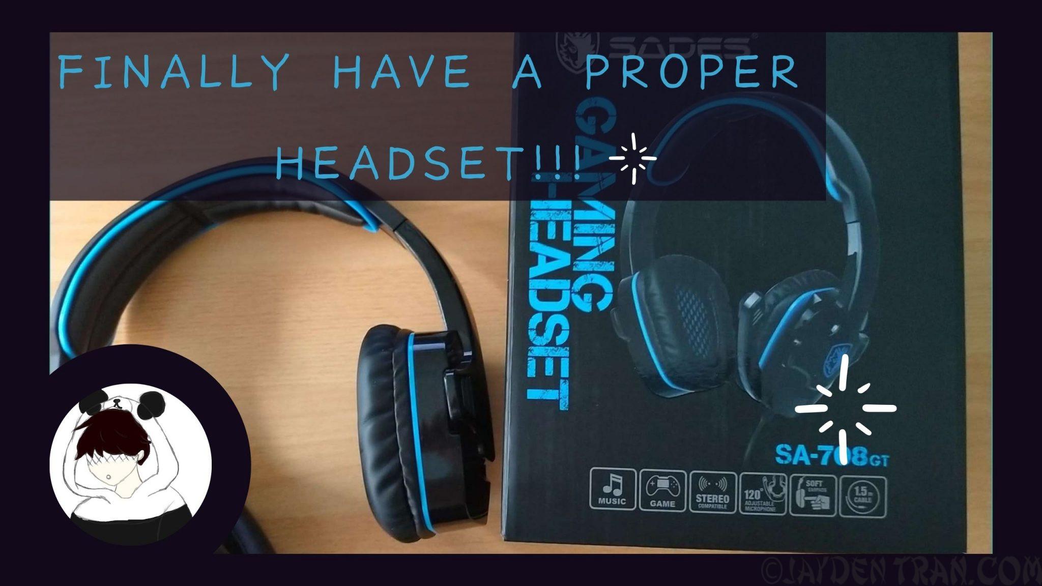 SADES SA-708GT Gaming Headset Review and Unboxing